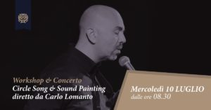 Circle Song & Sound Painting: Workshop & Concerto diretto da Carlo Lomanto